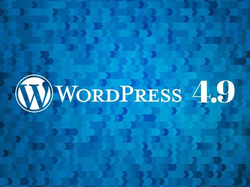 Quali novità porterà la nuova  versione 4.9 di Wordpress?